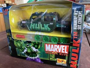 HULK, Marvel Model METAL KIT, Hummer H2 SUT - Maisto # 39005, 1:27