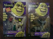 McFarlane Miniature Shrek Princess Fiona Donkey Lord Farquaad & Donkey, 2001 New