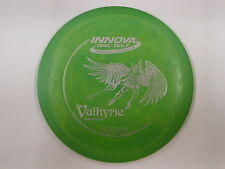 Innova Dx Natural Beauty Swirly Valkyrie Green/Yellow w/ Silver Stamp 175g -New