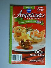 PILLSBURY Cookbook Booklet APPETIZERS & DESSERTS  Recipes 2006 #310