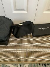 giorgio armani Make Up Bag/ Washbag/ Toilette Bag. Cosmetic Bag. Black