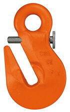 Grab hook with safety catch, 10mm eye grab hook, High Quality Brand!!!