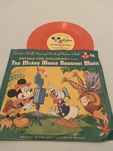 1950s WALT DISNEY'S MICKEY MOUSE CLUB NEWSREEL MUSIC ANYONE FOR EXPLORING REDORD