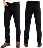 Wrangler Herren Jeans Hose Greensboro Black W30 - W33
