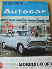 AUTOCAR 15 MAR 1963 FORD CORTINA ESTATE ALFA ROMEOS ATS RUSSIAN HIGHWAY CODE