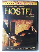 Hostel (DVD, 2007, 2-Disc Set) Directors Cut Special Eduction