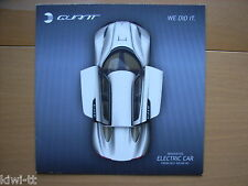 NLV Solar QUANT Electric Car Prospectus/Brochure/DEPLIANT, GB, 2010