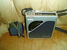 1985 Technics SL-XP7 Portable Compact Disc CD Player w/Case SH-CDB7
