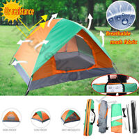2 Person Family Camping Waterproof Tent Camo Fast Install for Outdoor Hiking*L