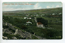 Nova Scotia - Gaspereau Valley (Kings Co) Dominion Atlantic Railway, homes early