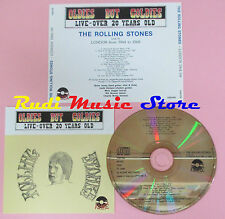 CD ROLLING STONES Live london over 20 years old OLDIES BUT GOLDIES(Xs5)lp mc dvd