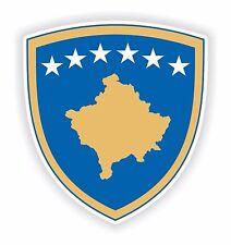 Kosovo Coat of Arms Sticker Car Bumper Laptop Tablet Helmet Hard Hat Locker PC