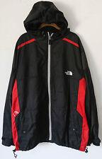 THE NORTH FACE *Steep Tech* Black Hooded Windbreaker Rain Jacket ~ Men's XXL