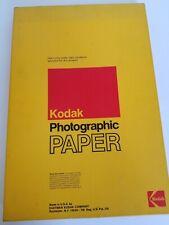 "Vintage Kodak Rapid photographic paper 12"" x 18'? 100 sheets. Sealed box"