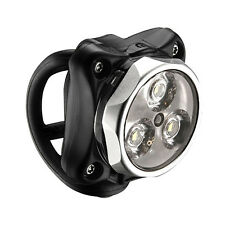 Lezyne Zecto Drive Bike  LED USB Rechargeable Safety Front / Head Light - Silver