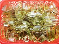 6-14pcs A+++ Natural CITRINE QUARTZ CRYSTAL 1/2lb WAND POINT HEALING