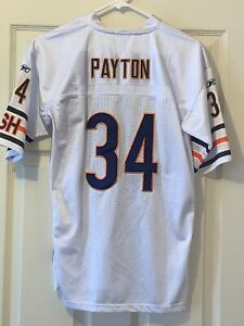 WALTER PAYTON CHICAGO BEARS ON THE FIELD NFL REEBOK JERSEY SIZE: L[16-18] YOUTH