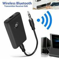Bluetooth 5.0 Sender Empfänger Wireless Audio 3.5mm Jack Aux Adapter