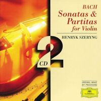 .S. Bach - Bach: Sonatas and Partitas for Violin [CD]