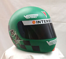 1997 INTERSTATE BATTERIES DISPLAY HELMET JOE GIBBS RACING BOBBY LABONTE NASCAR