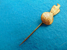 Case Tractor Thresher Stick Pin Eagle Globe Logo Looks Old