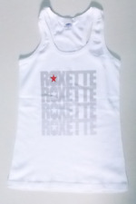 genuine official ROXETTE live tour tank top shirt- 2011 ,tel-aviv show-women M