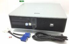 HP COMPAQ DC5700 SFF INTEL CORE2DUO E6300 1.86GHZ 2GB 250GB HDD WIN XP PRO H244B