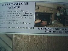news item 1992 advert wyverne hotel whitley bay