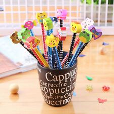 2x  Cartoon Magic Writing Drawing Pencil Eraser For Kids Child RDR
