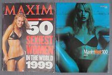 Maxim Magazine May Insert 1999 50 Sexiest Women in the World & 2000/2001 Hot 100