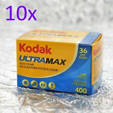 10x Kodak Ultramax 400 35mm (36 exp) film - 36 PICTURES per roll! (5/2021)