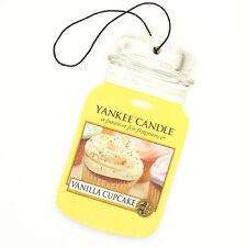 Yankee Candle Vanilla Cupcake Car Jar 2d Cardboard