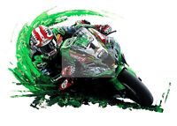 Jonathan Rea World Superbike Champion Giclee Limited Edition of 150 print