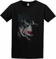 Pennywise IT 2017 Movie Inspired Creepy / Scary Clown T-Shirt / Top S/M/L/XL/2XL