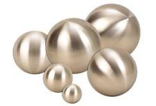 6 er Set Dekokugel Edelstahl Silber matt Ø 25 cm bis Ø 4 cm Kugel Rosenkugel