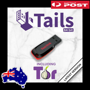TAILS OS V.4.20 Live USB - Securely Browse Internet with Tor - Access Darknet