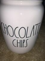 """Rae Dunn by Magenta """"CHOCOLATE CHIPS """" Baby Canister"""