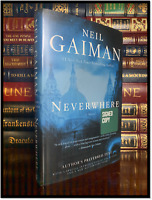 Neverwhere ✍SIGNED✍ by NEIL GAIMAN Hardback Author's Preferred Edition 1st Print
