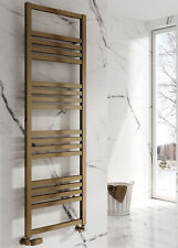 NEW DESIGN Reina bolca aluminium radiator satin BRONZE 1200 x 485 mm square