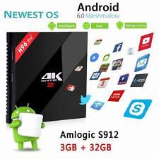H96 Pro+ 3G 32G Amlogic S912 Android 6.0 Dual WiFi BT4.1 Gigabit Ethernet TV Box