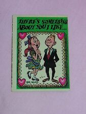 1959 TOPPS FUNNY VALENTINE CARD #39 - There's Something About You.