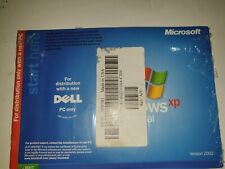 DELL MICROSOFT Windows XP Professional Re-installation CD Service Pack 1= NEW=