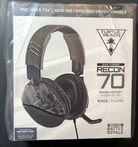 Turtle Beach Ear Force Recon 70 Wired Gaming Headset [ Camo / 3.5mm Jack ] NEW