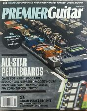 Premier Guitar March 2017 All Star Pedalboards Bass Reviews FREE SHIPPING sb