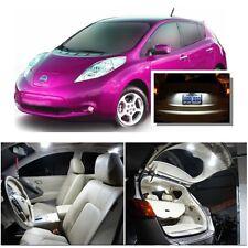 For Nissan Leaf 2011+ Xenon White LED Interior kit + White License Light LED