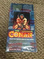 1993 THE CHROMIUM CONAN Trading Card SEALED BOX of 36 Packs Comic Images