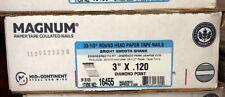 "Magnum Fasteners 16455 3"" x .120 Round Head Bright Smooth Shank Nails (2500)"