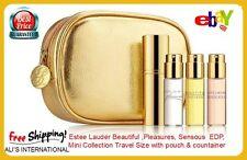 Estee Lauder  * Beautiful * Pleasures * Sensuous *EDP,Gift Set Mini Collection