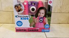 NEW IN BOX DISCOVERY KIDS DIGITAL CAMERA USB COMPATIBLE WITH LARGE LCD DISPLAY