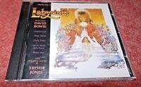 Labyrinth CD Original Film Soundtrack, EMI Release 1986, Jim Henson, David Bowie